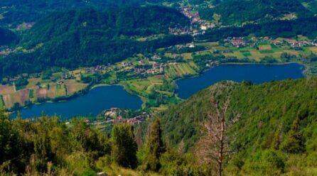Giro dei laghi delle Prealpi trevigiane