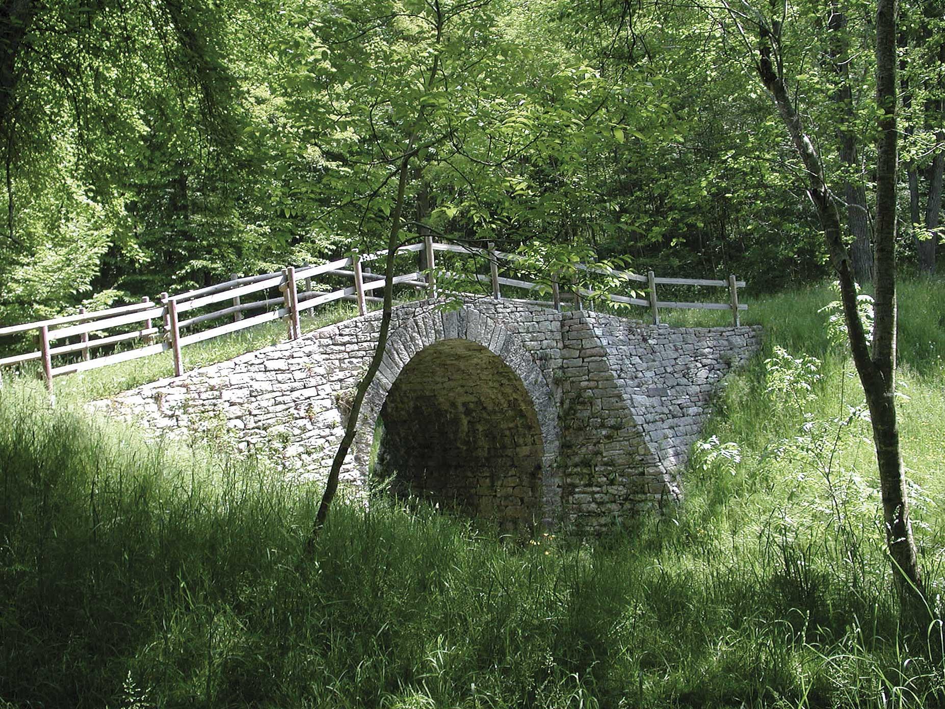 Il Ponte romano a Lamon in provincia di Belluno