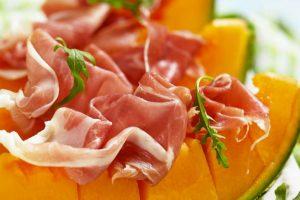 Prosciutto di Montagnana e melone
