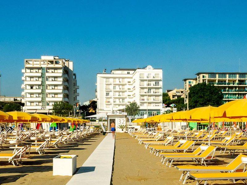 Le spiagge romagnole Bandiera Blu 2021